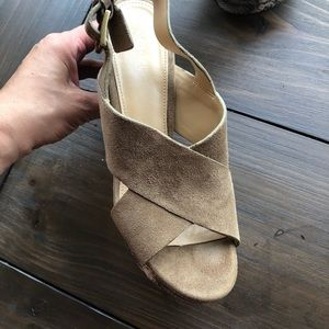 Michael Kors Shoes - Michael Kors Mariana Suede Sling